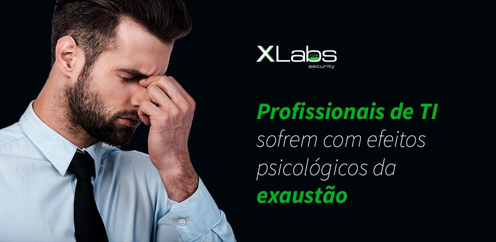 Profissionais de TI sofrem com os efeitos psicológicos da exaustão